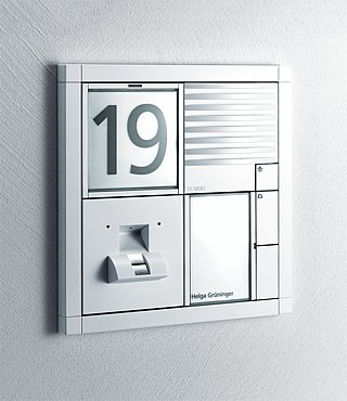 Siedle Vario adgangskontrol modulopbygget dørstation