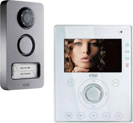 Urmet dørtelefon og dørstation med video og kamera