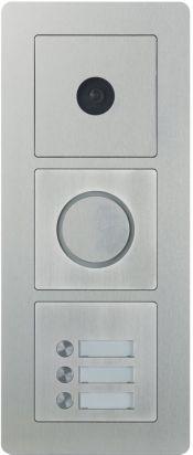 Scantron dørstation med kamera triple modul
