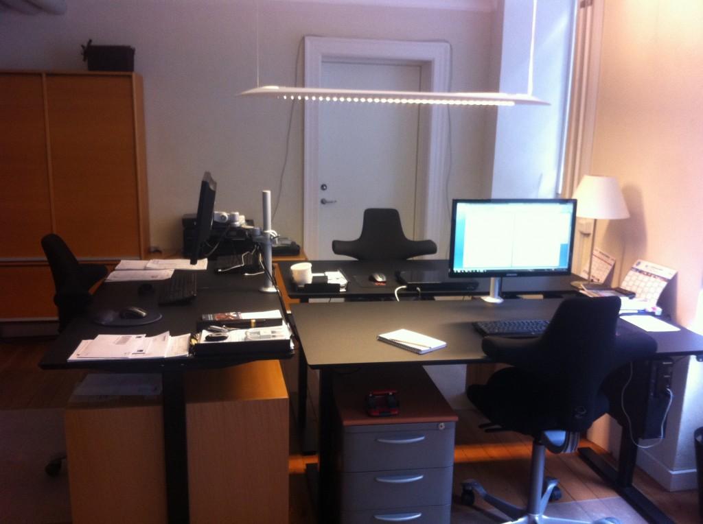 Øbro Elektrics kontor på Østerbro