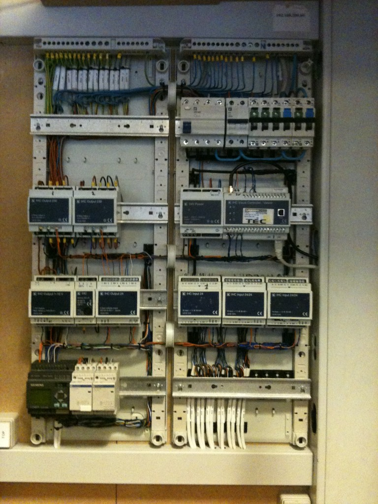 Styrestrømstavle styring og automatik Øbro Elektric